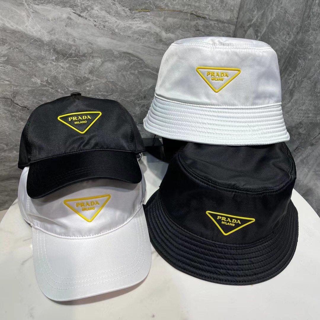 特普拉达2021新款尼龙简约风渔夫帽