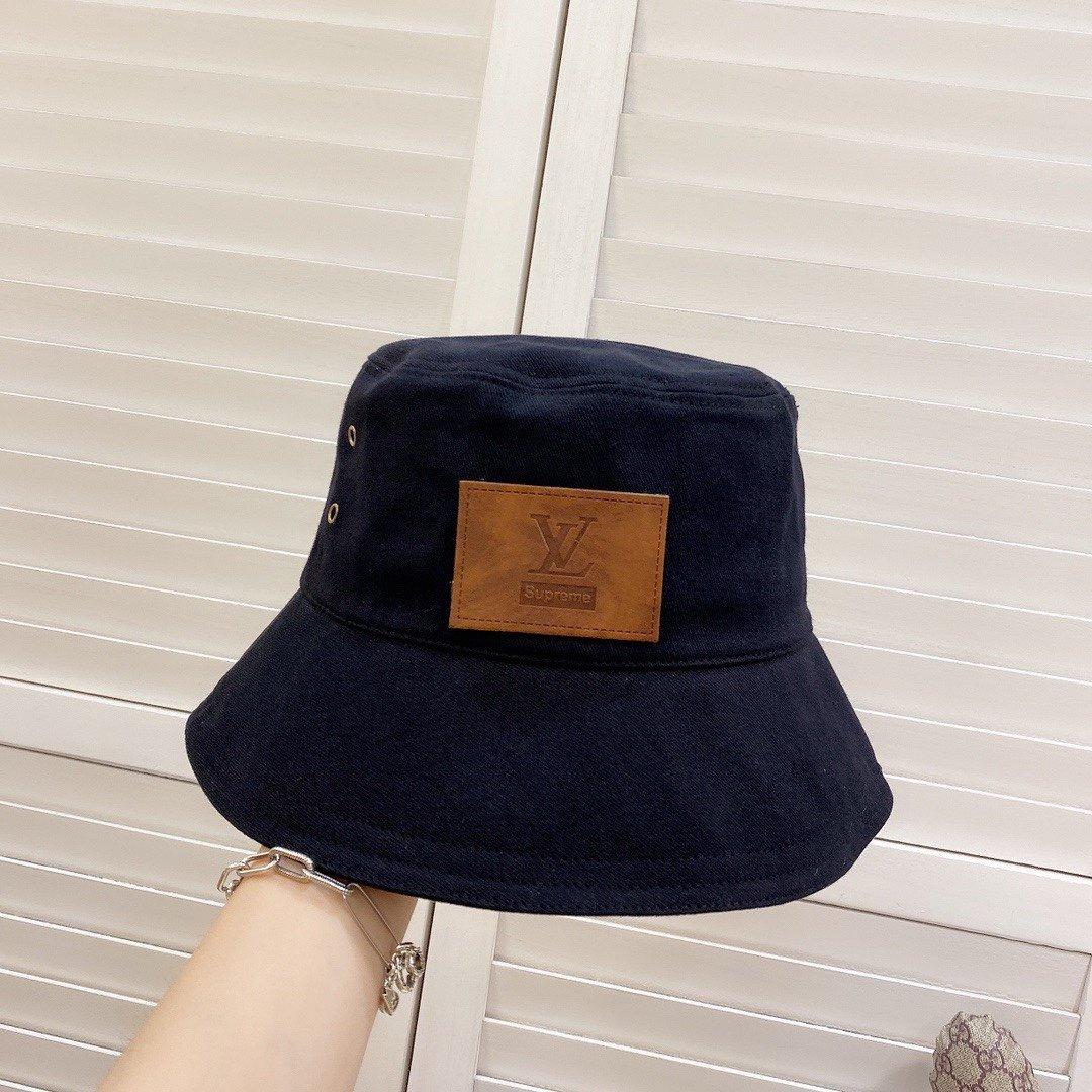 特LV2021新款韩版潮品渔夫帽细节