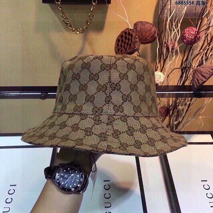 Gucci古奇官网高版出货新款渔夫帽
