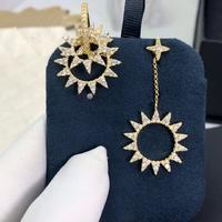 Apm monaco 高品质❗️Apmmonaco短款金色齿轮⚙️耳环!巴洛克风齿轮造型耳环,多个齿轮圈的设计,又有点像太阳🌞,美到...