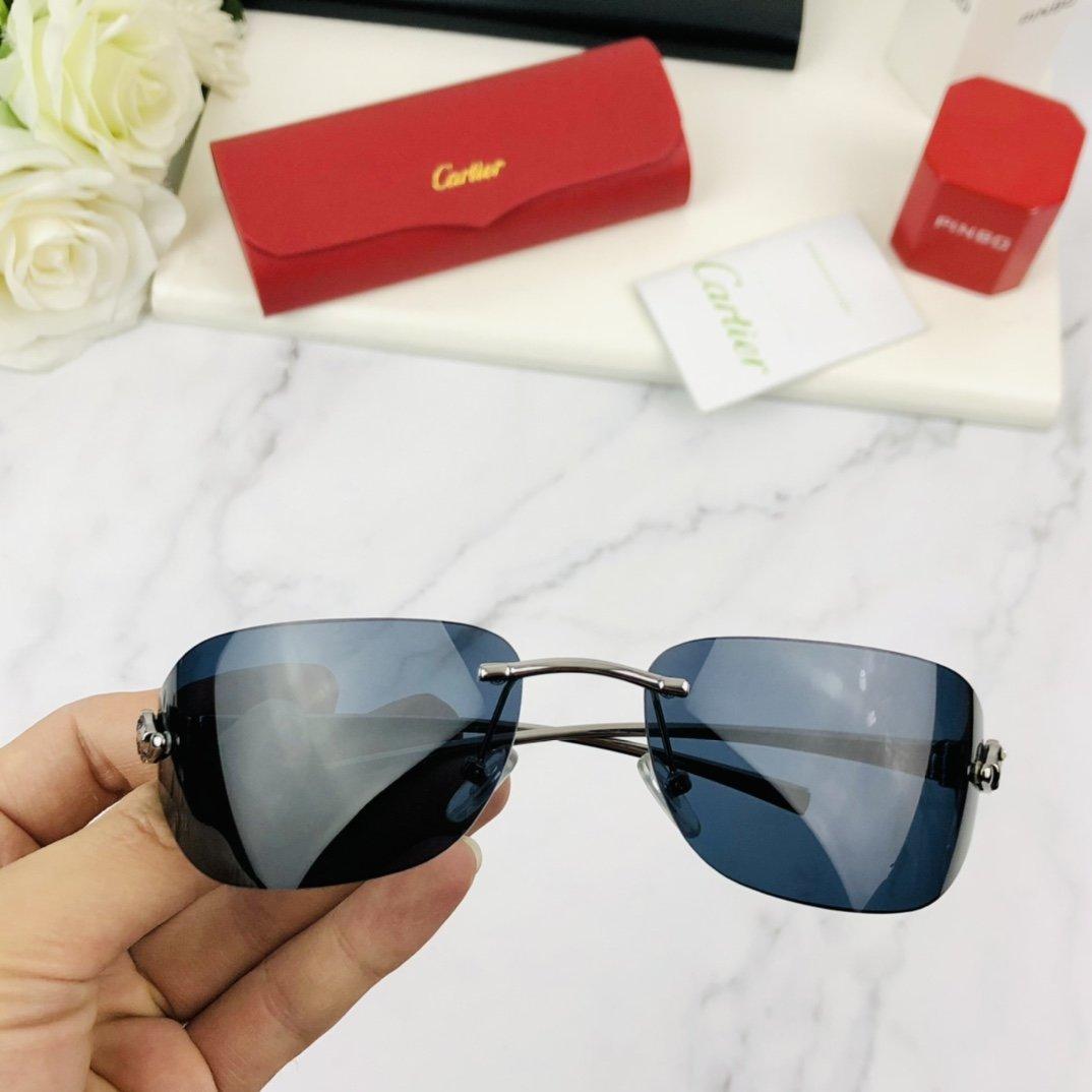 Cartier卡地亚无框眼镜简洁轻盈