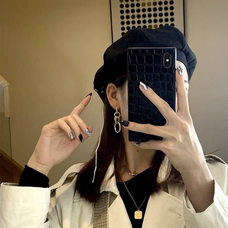 AA166赛琳五环耳钉celine耳