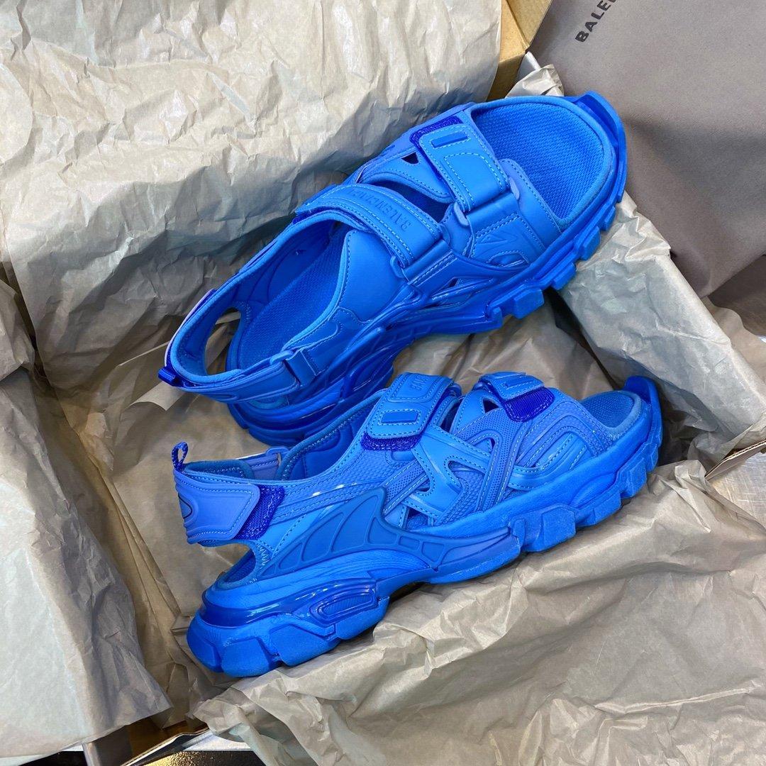 Balenciaga Triple S 20ss track 凉鞋