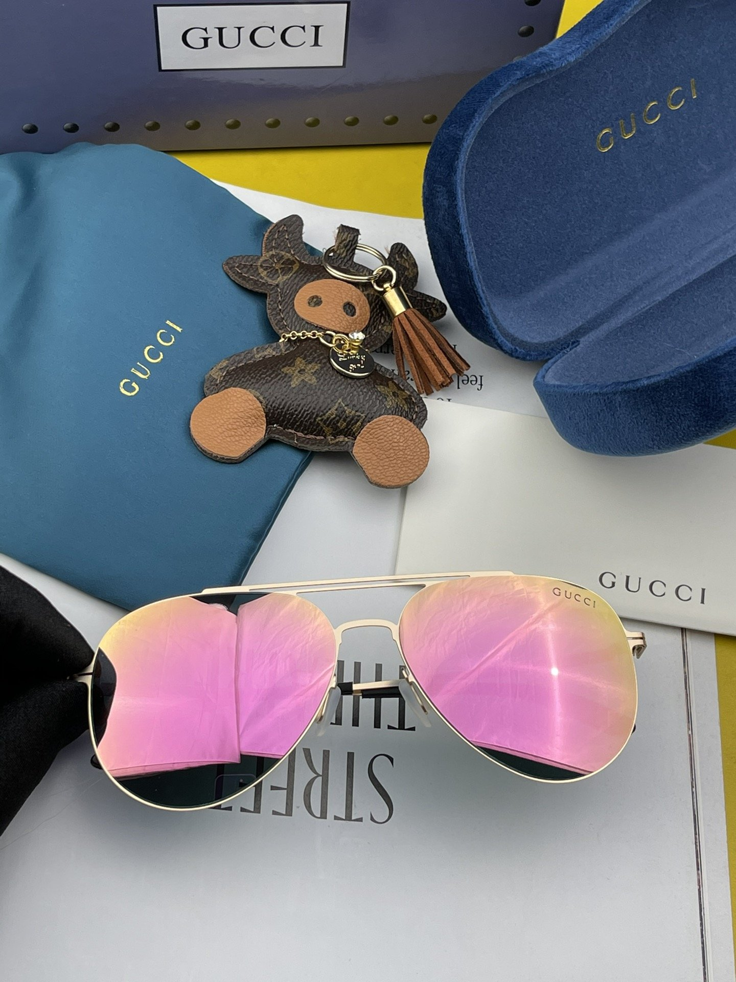 Gucci2021春夏新款超轻无螺丝