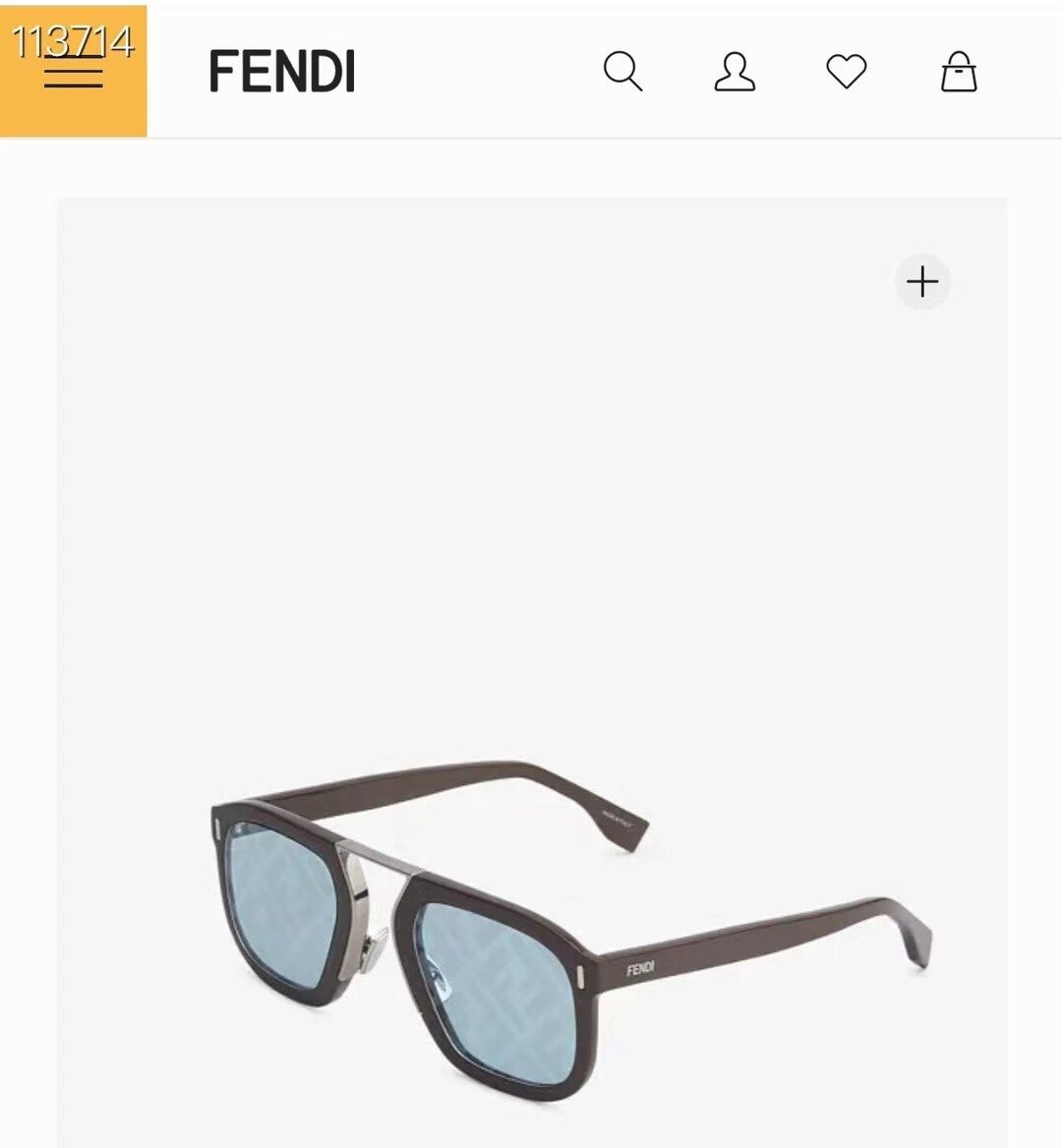 FENDI新品ModelFFM010