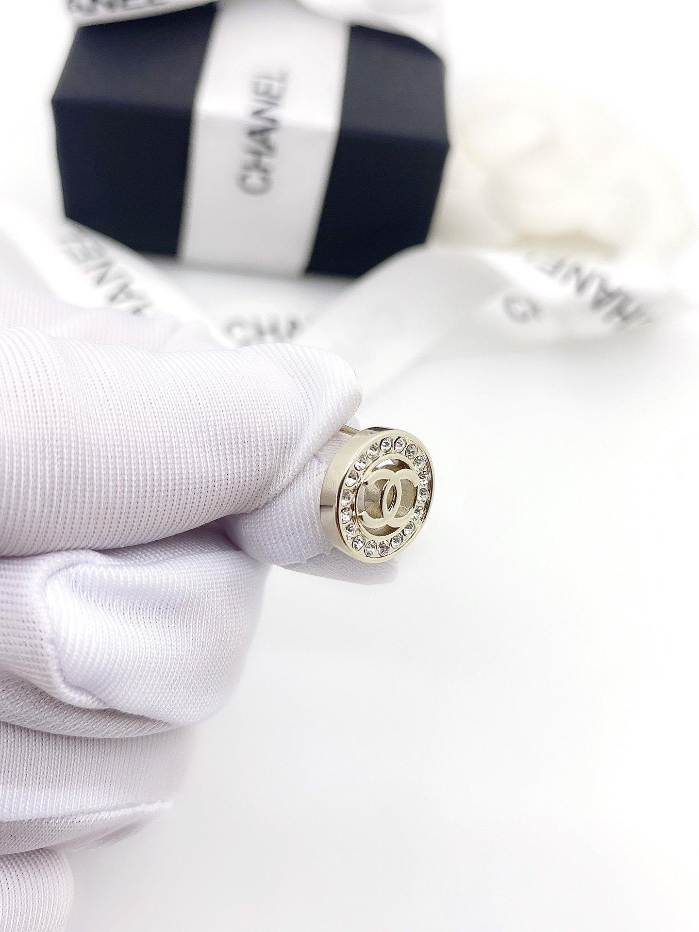 小香家圆形耳钉同款材质925银针