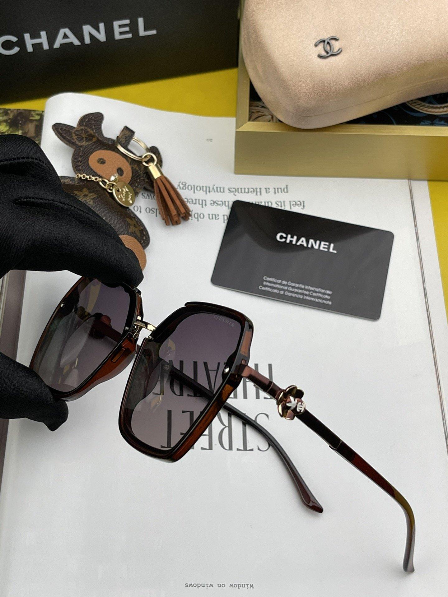 香奈儿2021新款偏光太阳镜潮流时尚