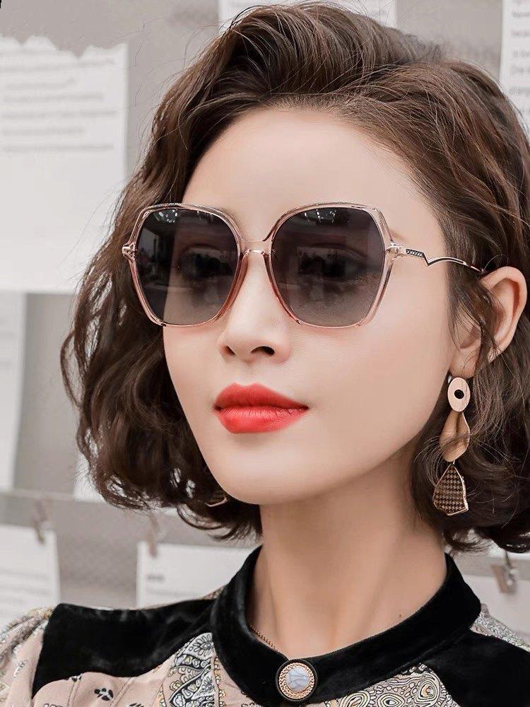 香奈儿女士太阳镜2021新款最潮时尚