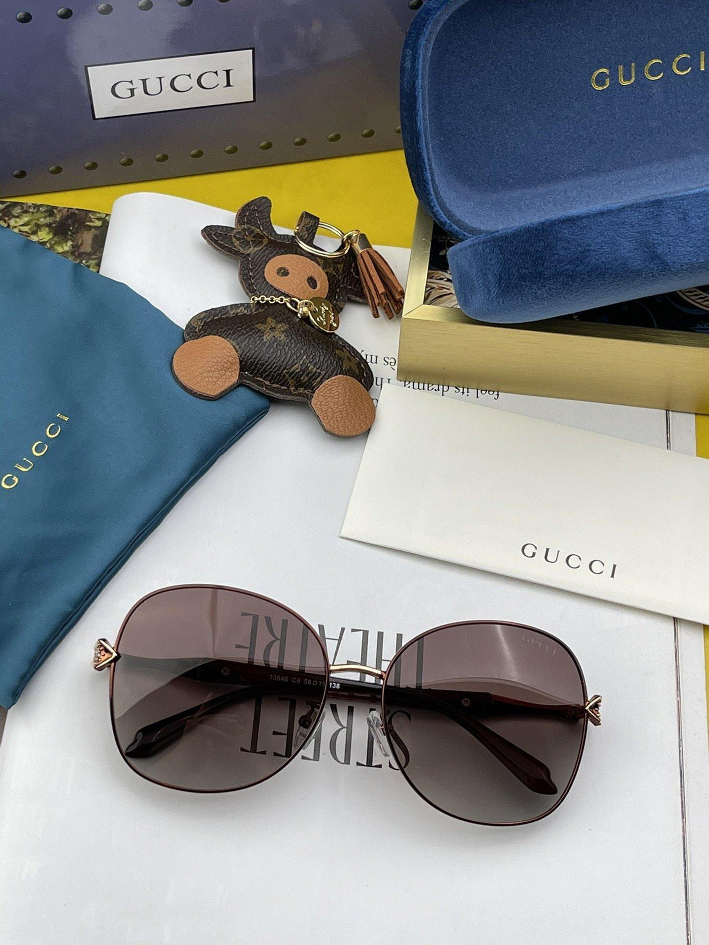 Gucci古奇2021年新款太阳镜精