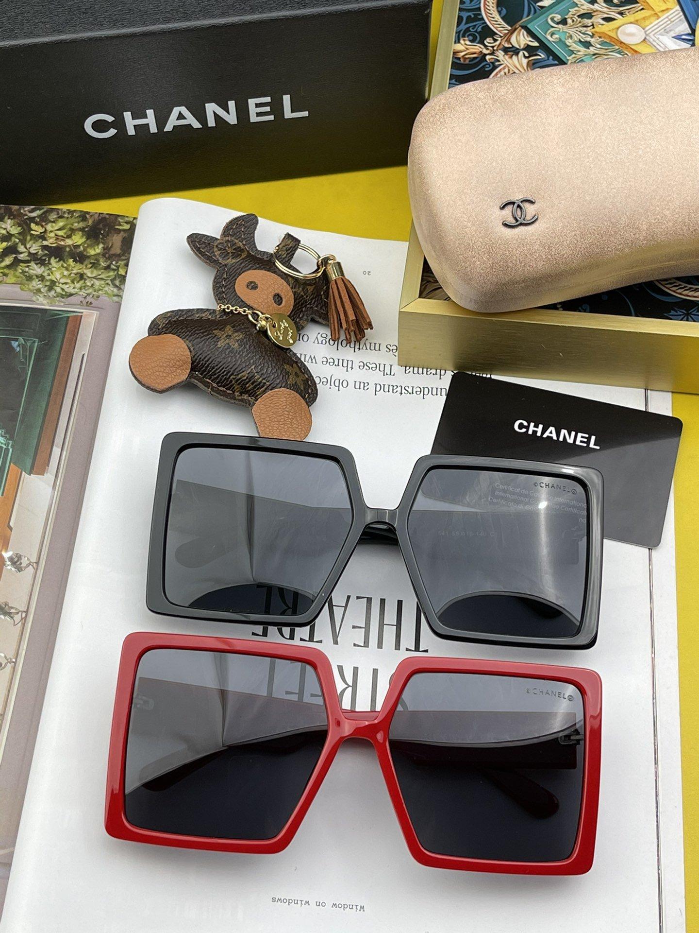 TR偏光系列Chanel大框太阳镜墨