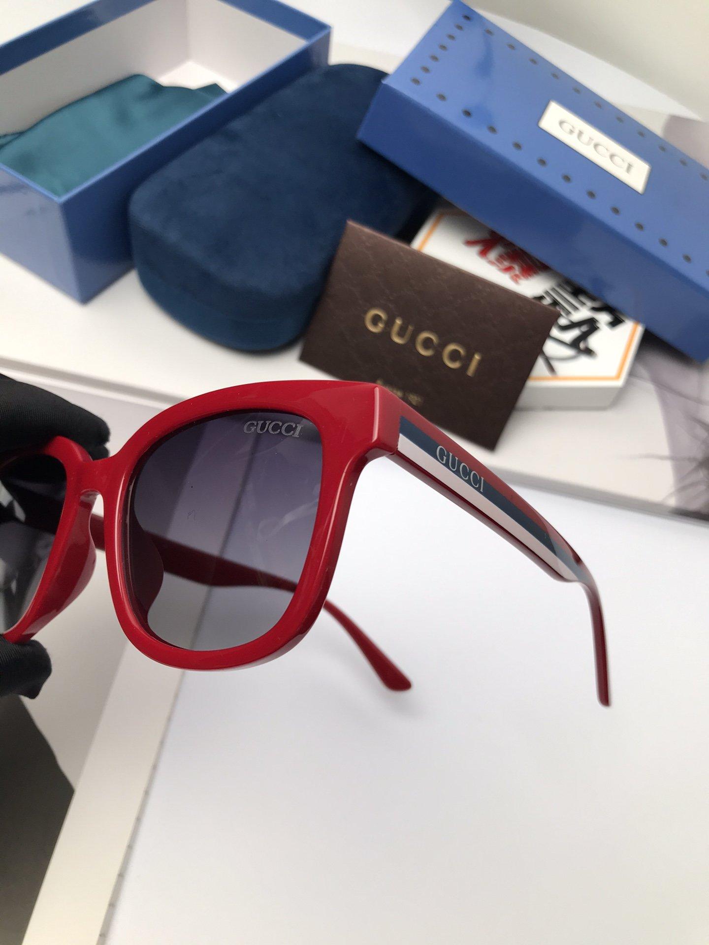 新款:品牌古奇Gucci女士偏光太阳