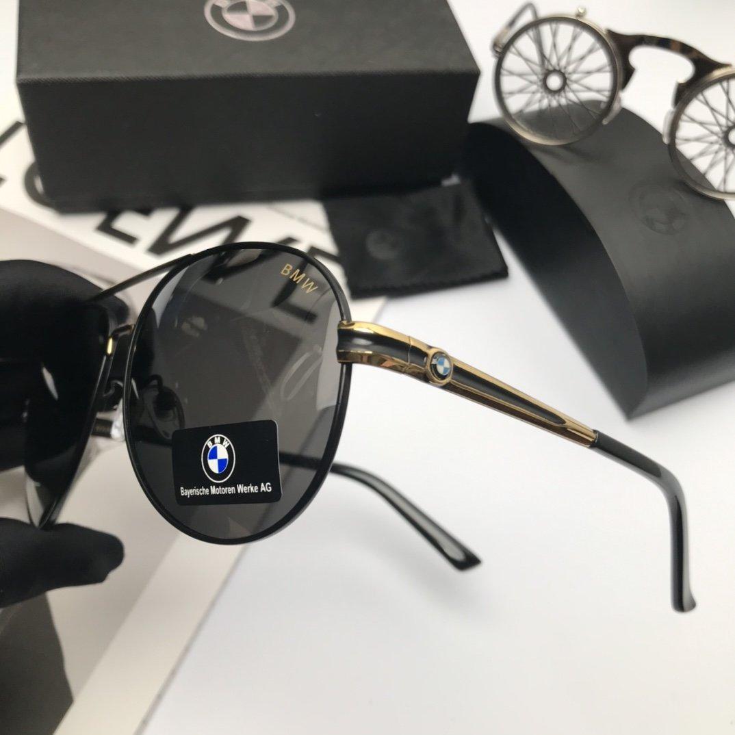 新款品牌BMW宝马高品质男士偏光太阳