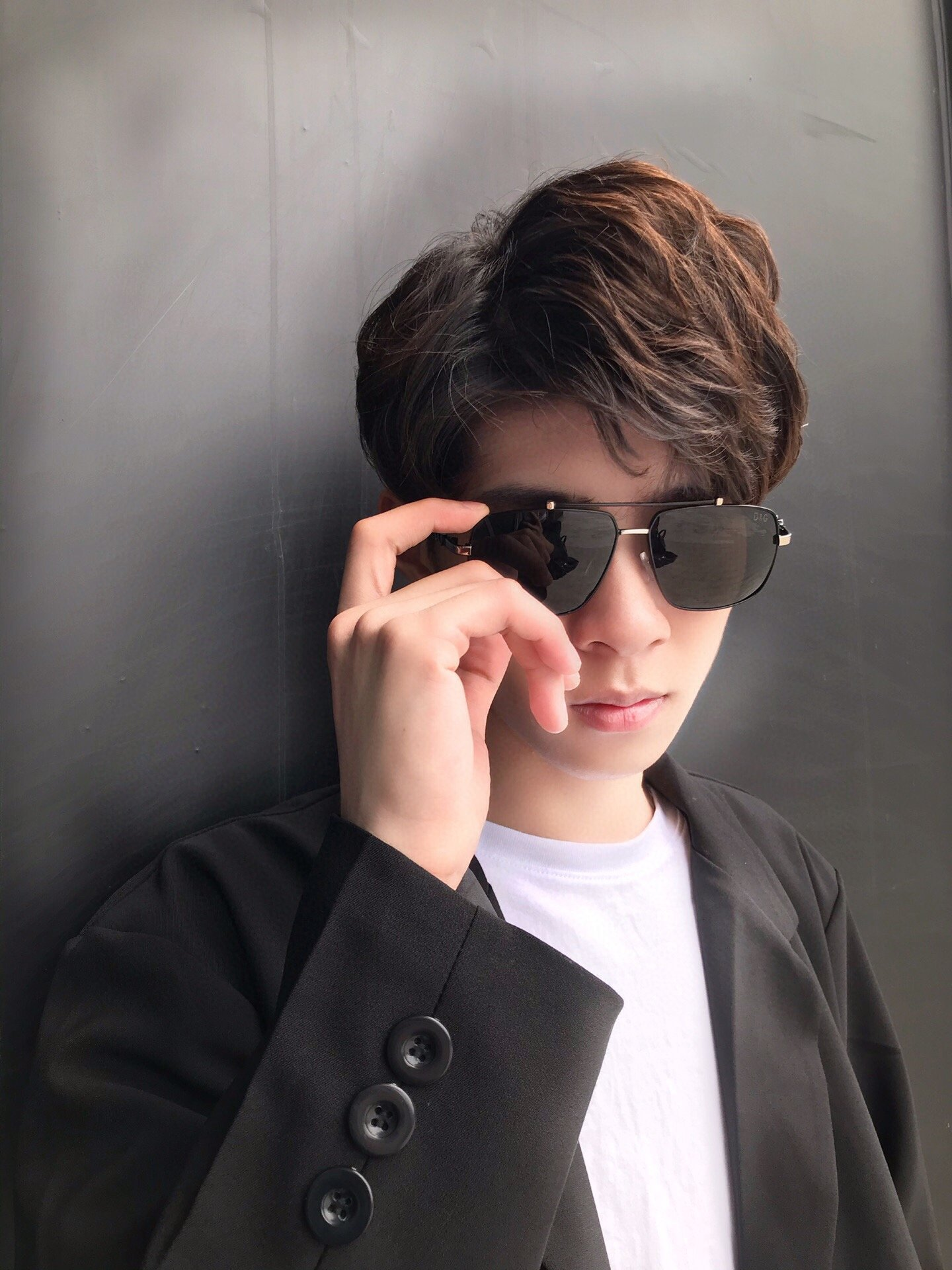 新款品牌DG蒂塔高品质男士偏光太阳镜
