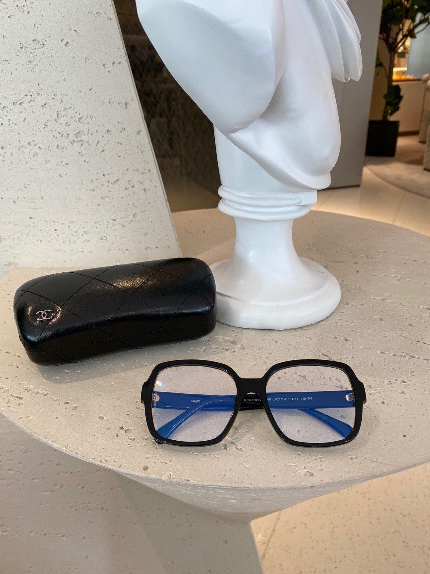 板材高品质Chanel小香方框眼镜爆