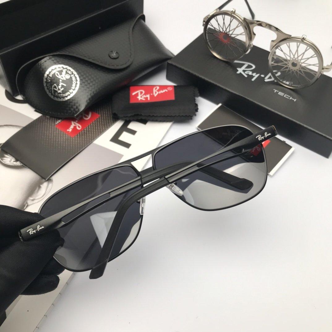 新款品牌雷朋高品质男士偏光太阳镜材质