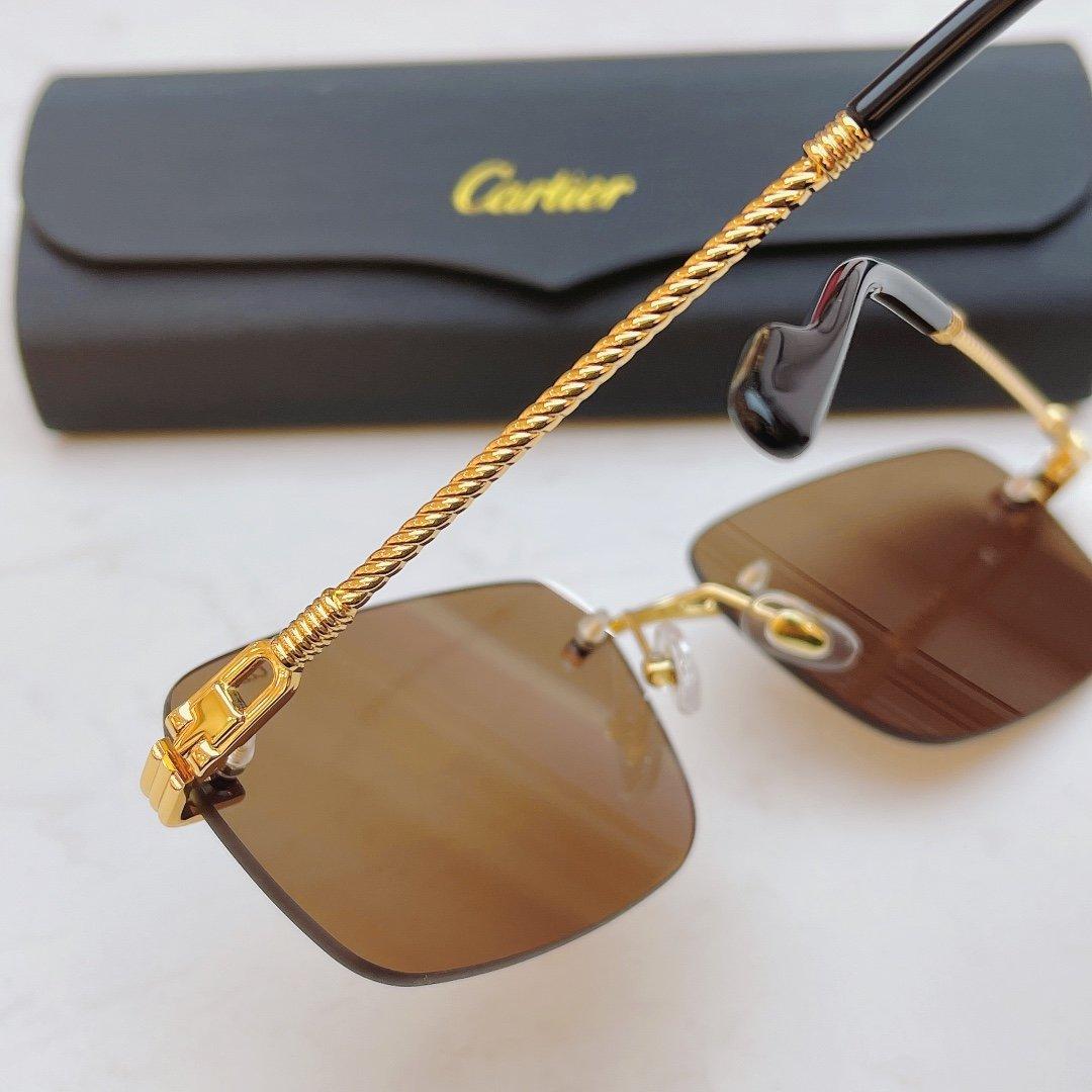 Cartier卡地亚CT0295S!