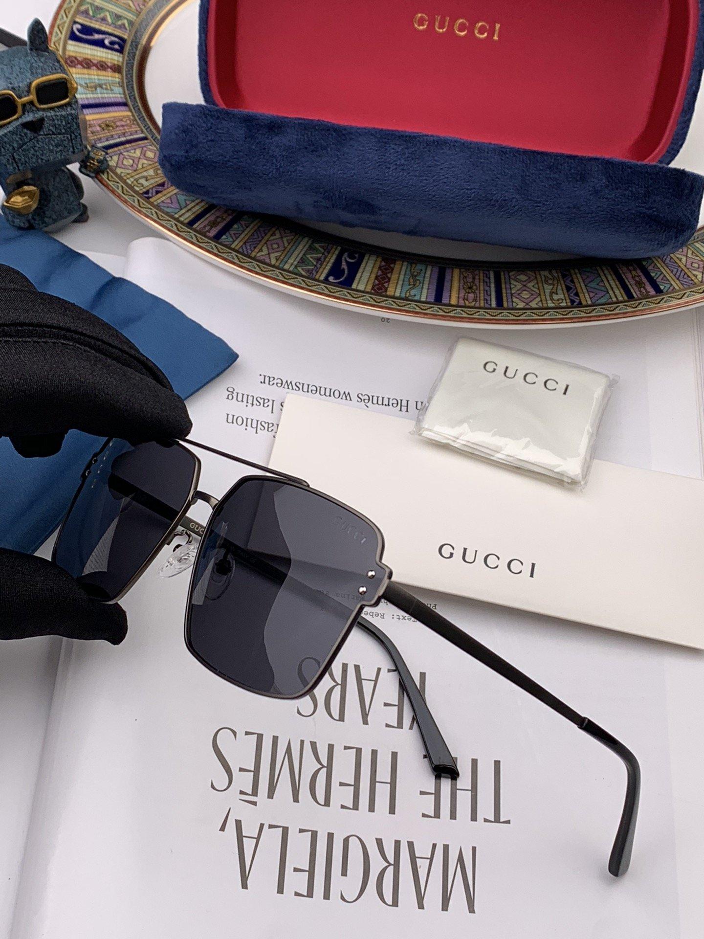 GUCCI男士推荐新款偏光太阳镜时尚