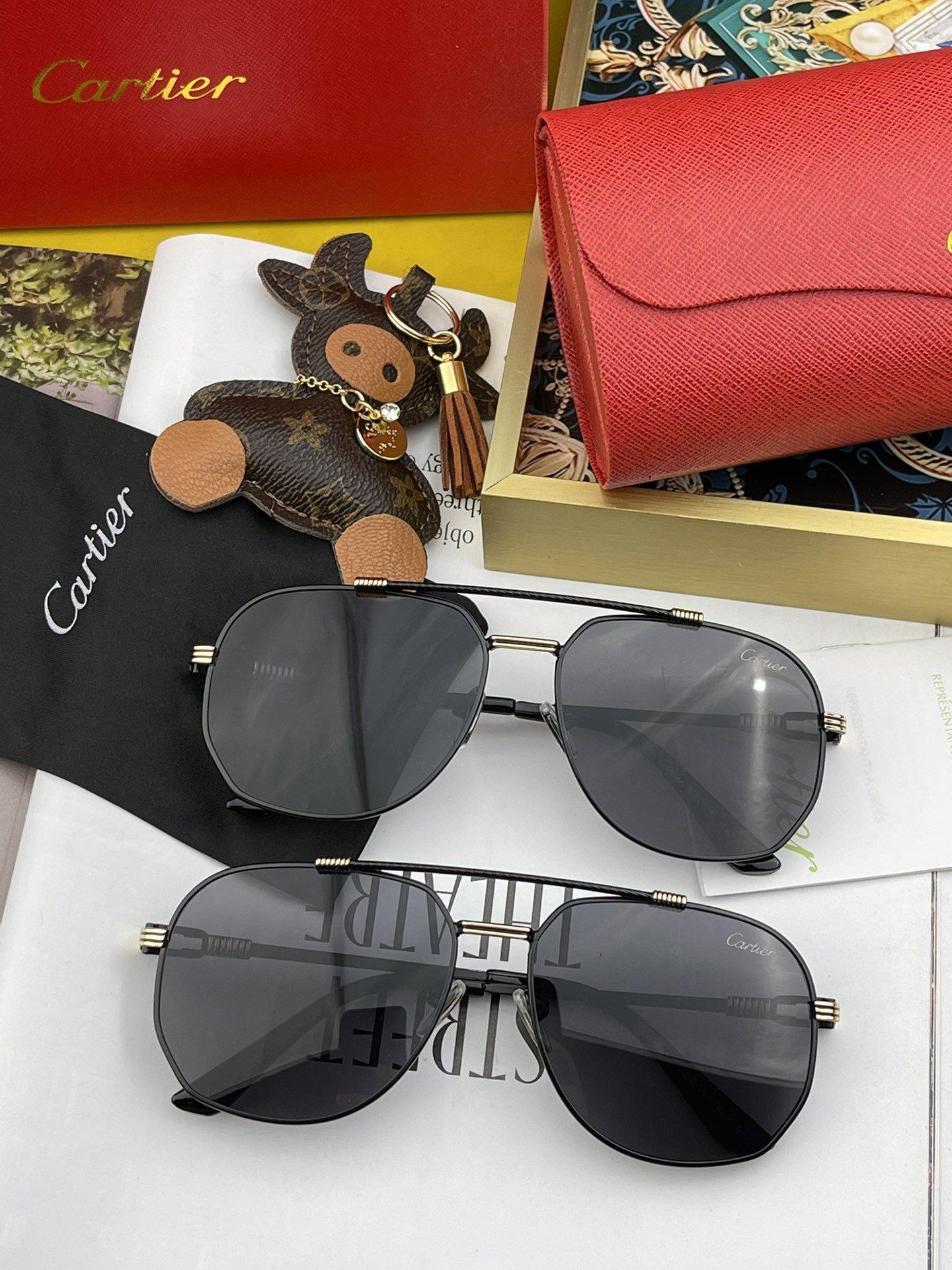 Cartie*卡地亚墨镜男士太阳眼镜