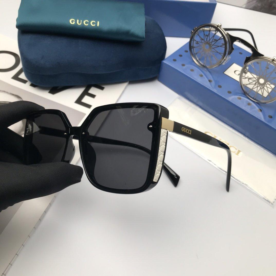 新款:品牌Gucci古奇女士偏光太阳