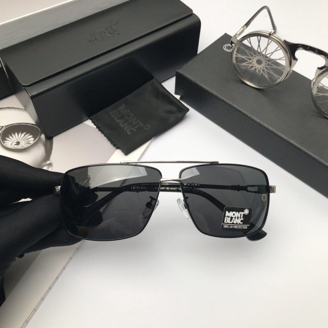 新款品牌万宝龙高品质男士偏光太阳镜材