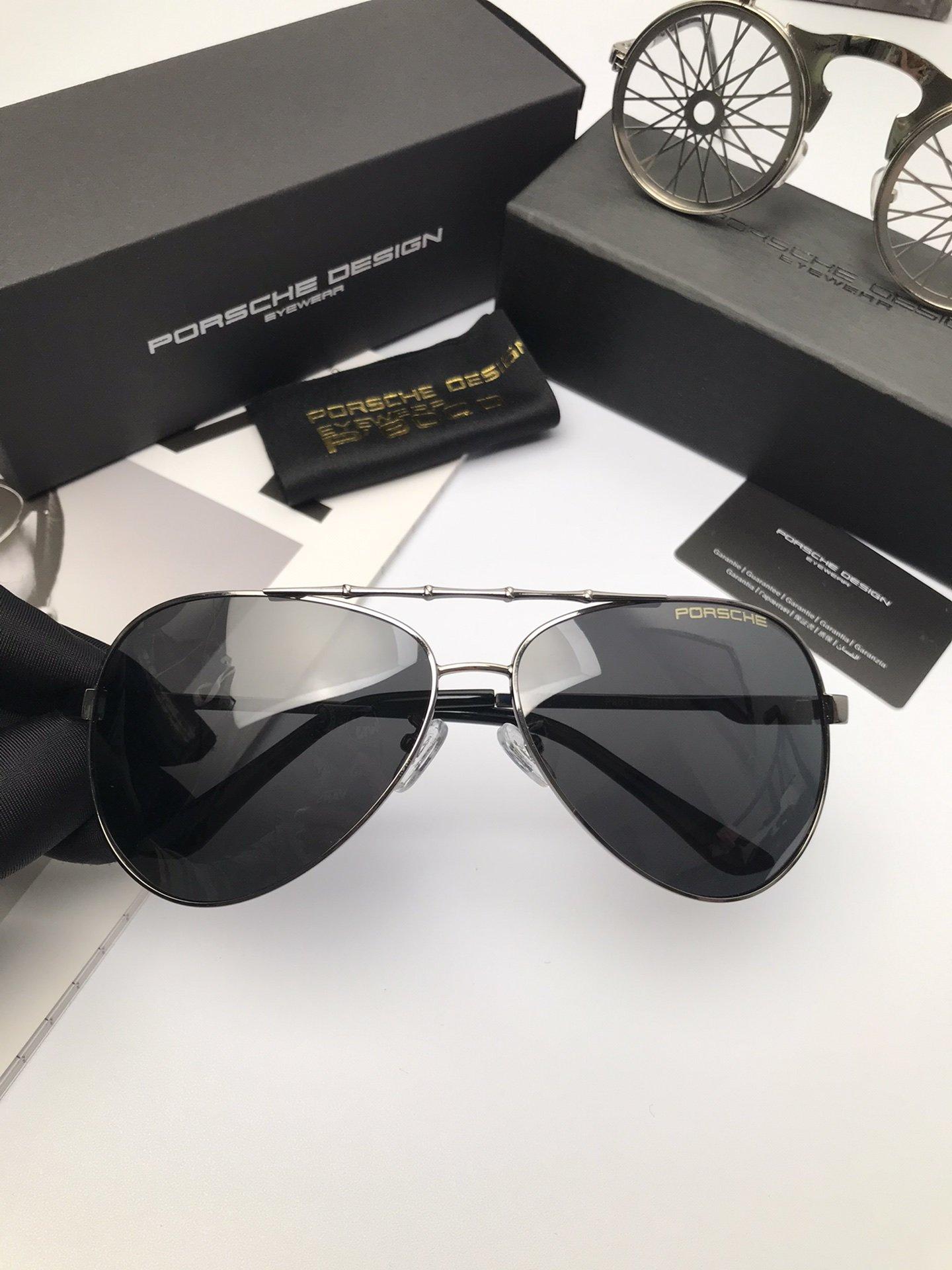 新款品牌保时捷高品质男士偏光太阳镜材