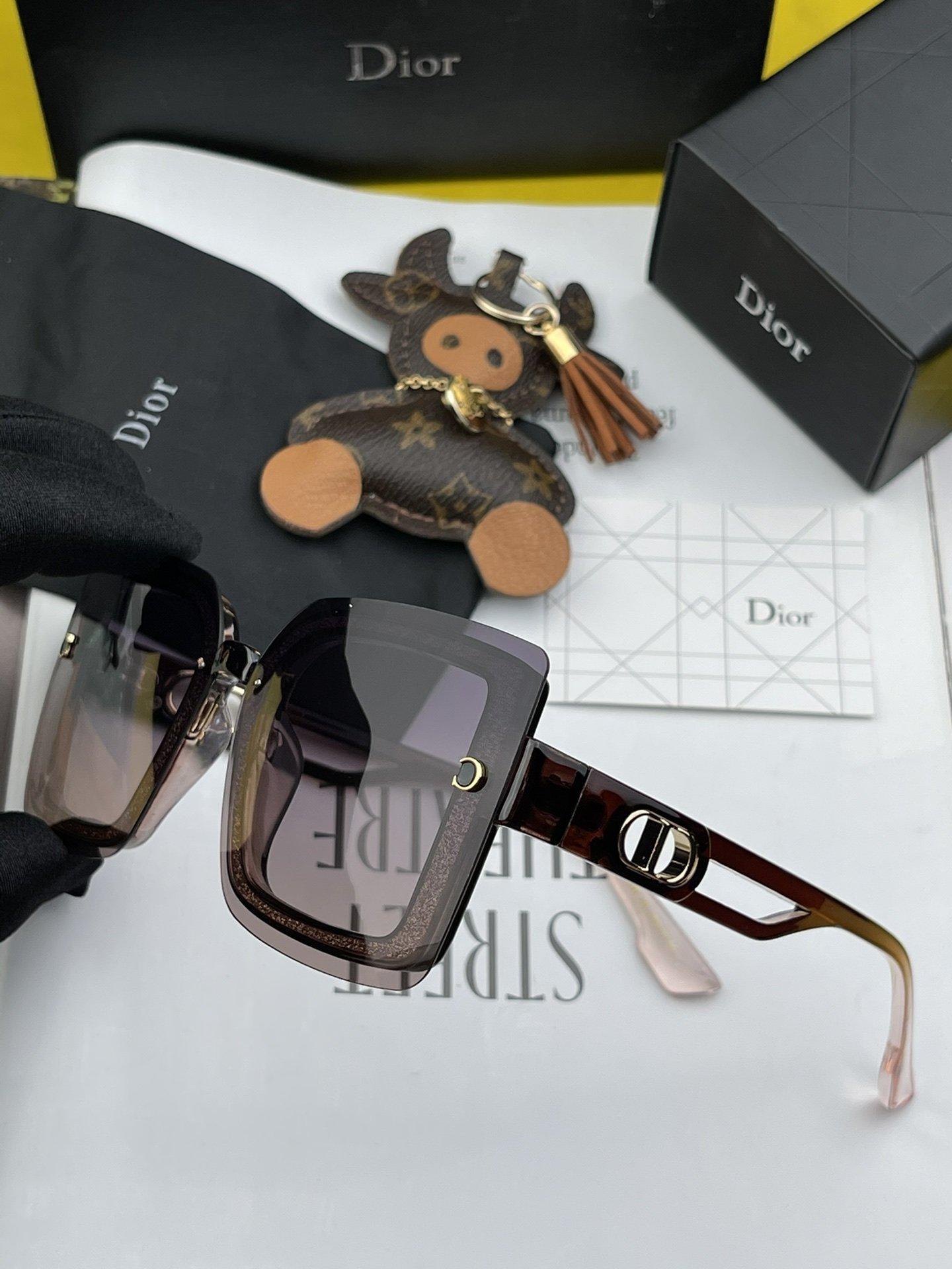 Dior2021新款偏光太阳镜款式多