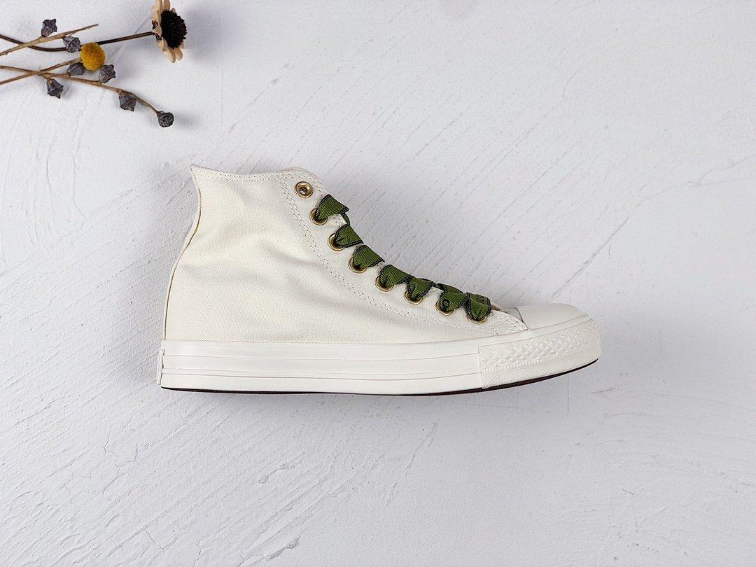 小红书种草爆款‼️‼️Gucci x Converse 匡威 古驰联名米白金标高低帮帆布鞋