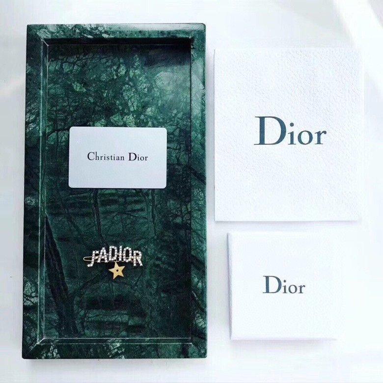 Dior迪奥21新款复古银色水钻JA