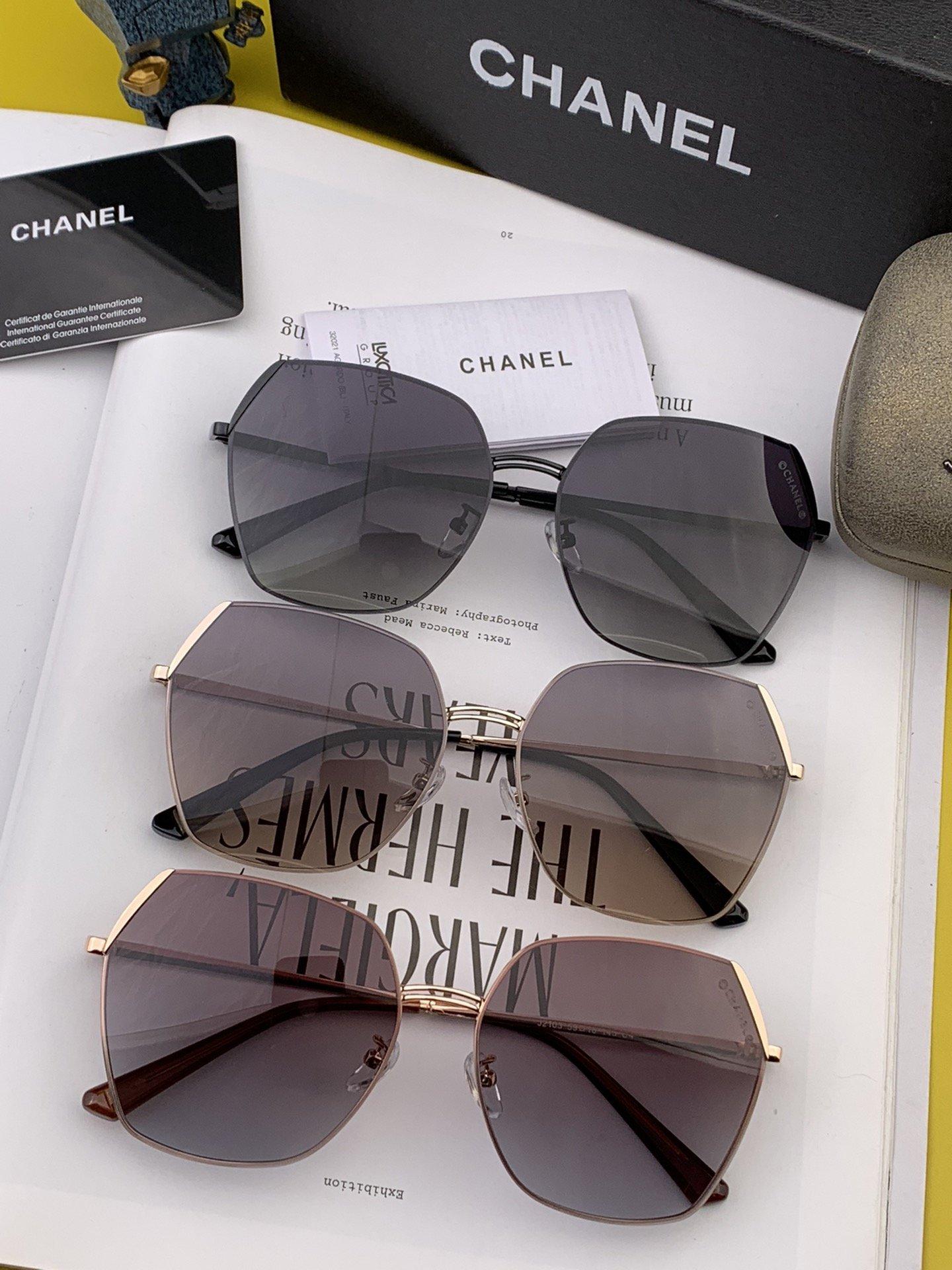 CHANEL香奈儿新款尼龙偏光太眼镜