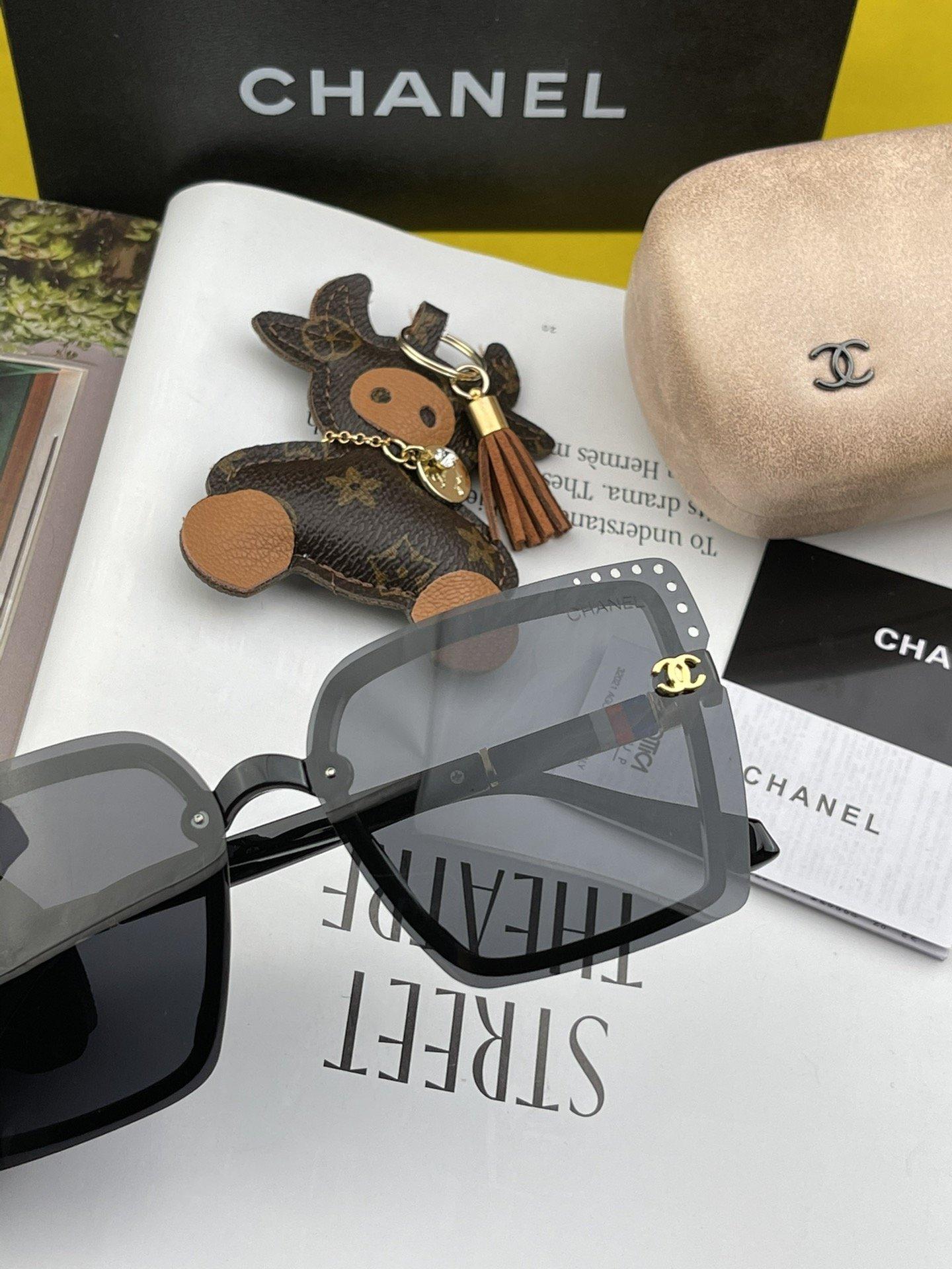 新品CHANEL香奈儿.太阳镜以独特