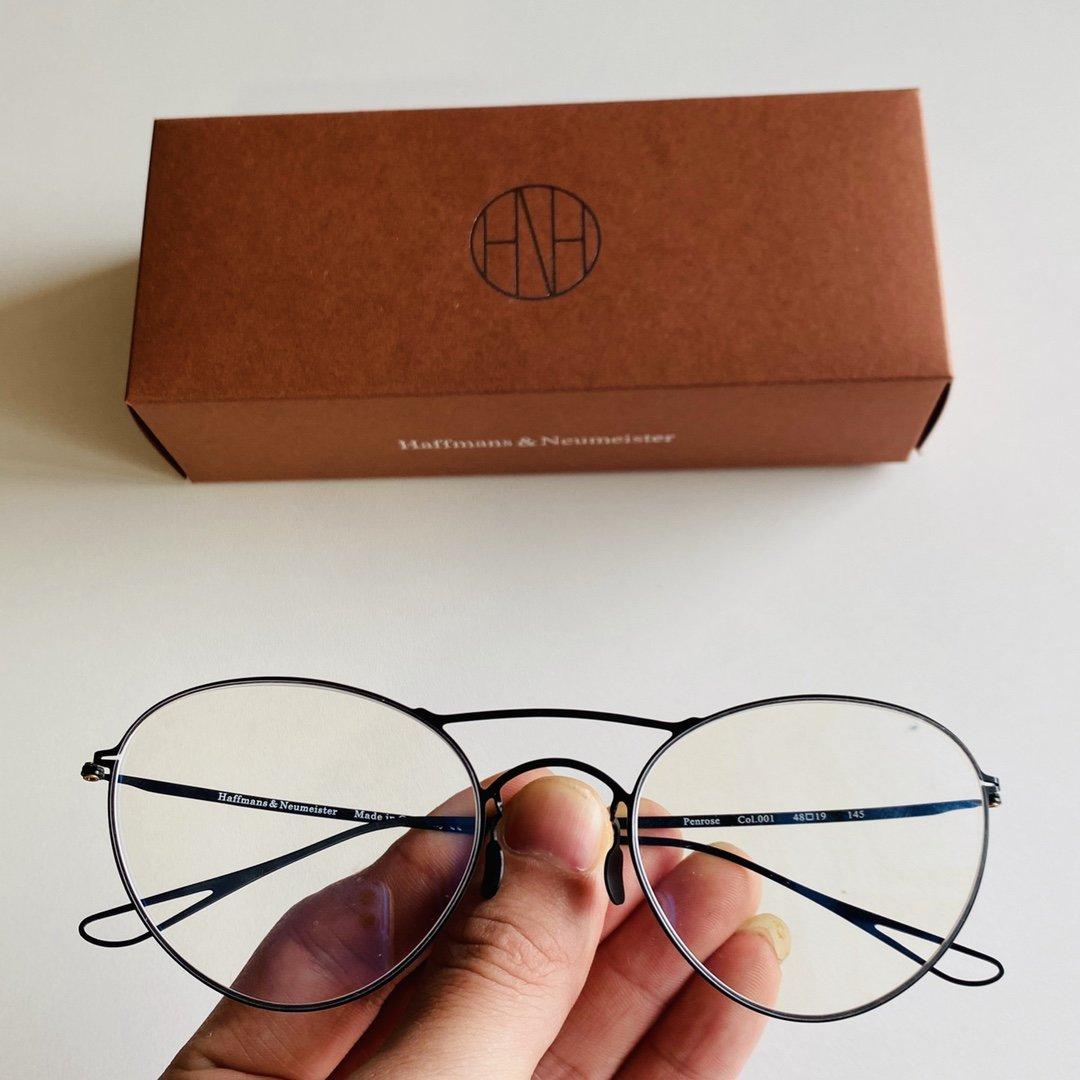 配盒薄钢眼镜超级无敌轻潮流眼镜品牌H