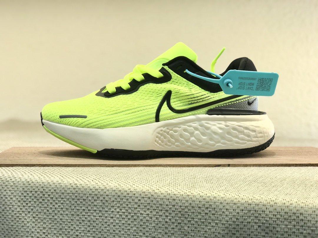 Nike  ZoomX  invincible  Run  FK  黄绿黑