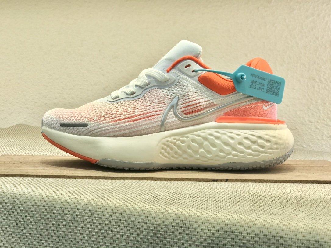 Nike  ZoomX  invincible  Run  Flyknit  白橙