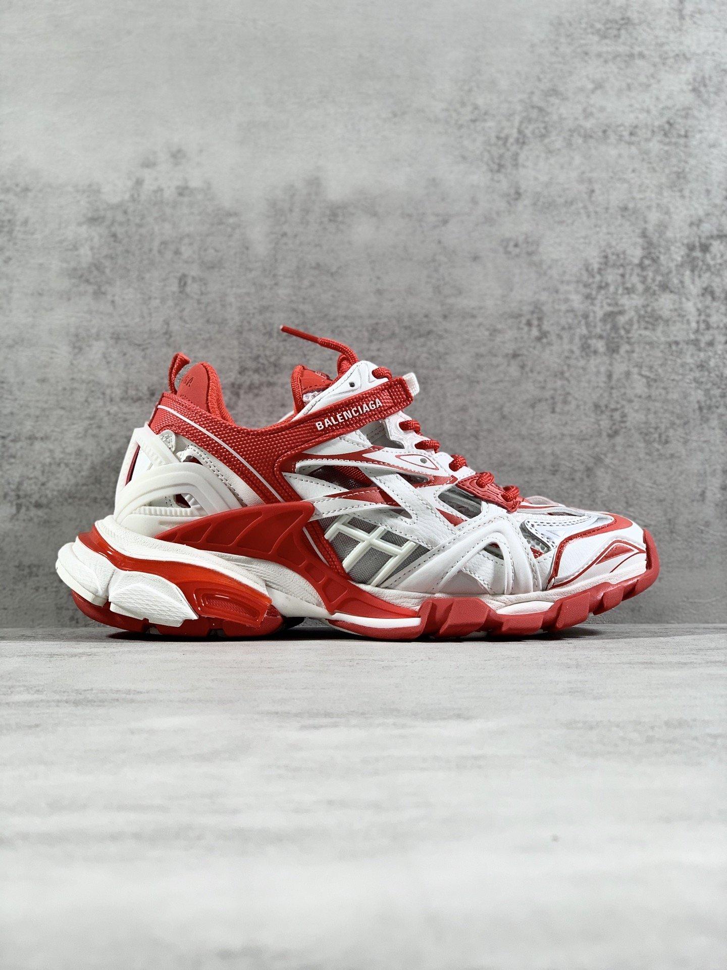 阿玛尼 顶级版本#BALENCIAGATrack2Sneakers巴黎世家四代轨道2代570391W2GN11000全...