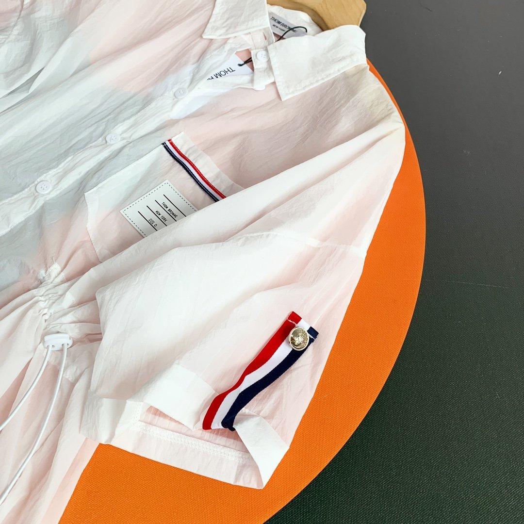 TB防晒衣套装白色蓝色SML夏季必备
