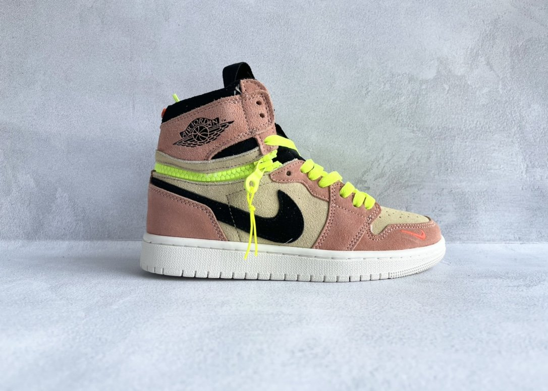 Air Jordan 1 High Switch 杏粉