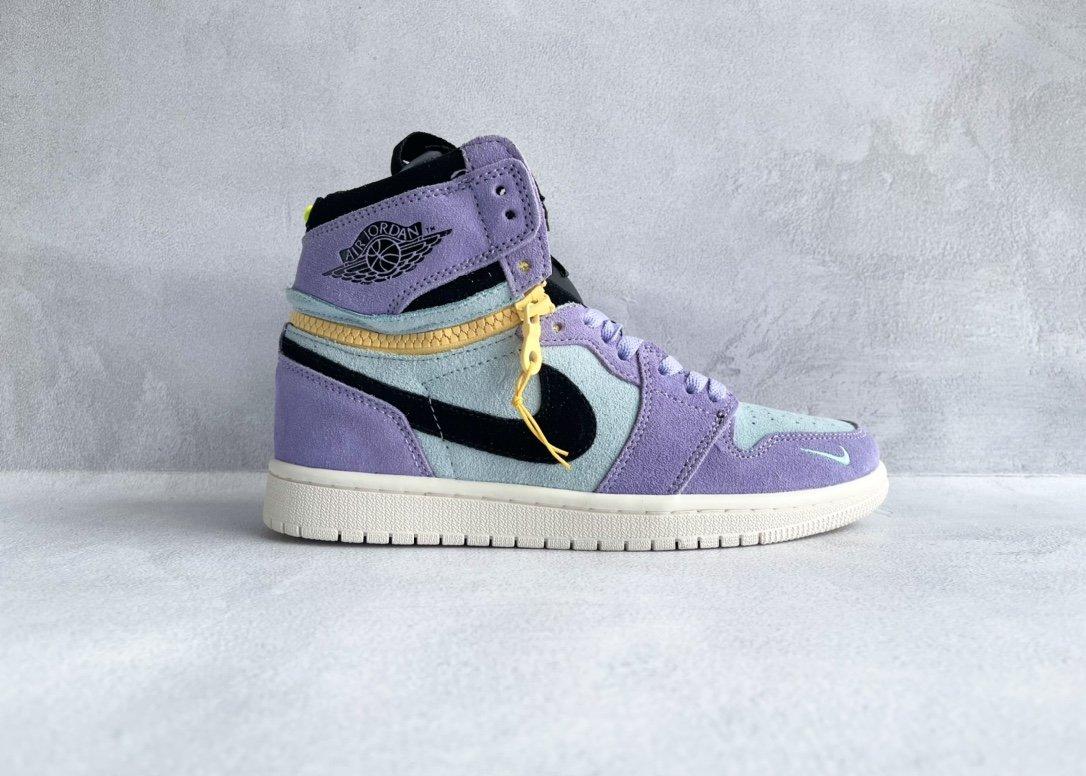 "Air Jordan 1 High Switch ""Purple Pulse"" 紫罗兰"