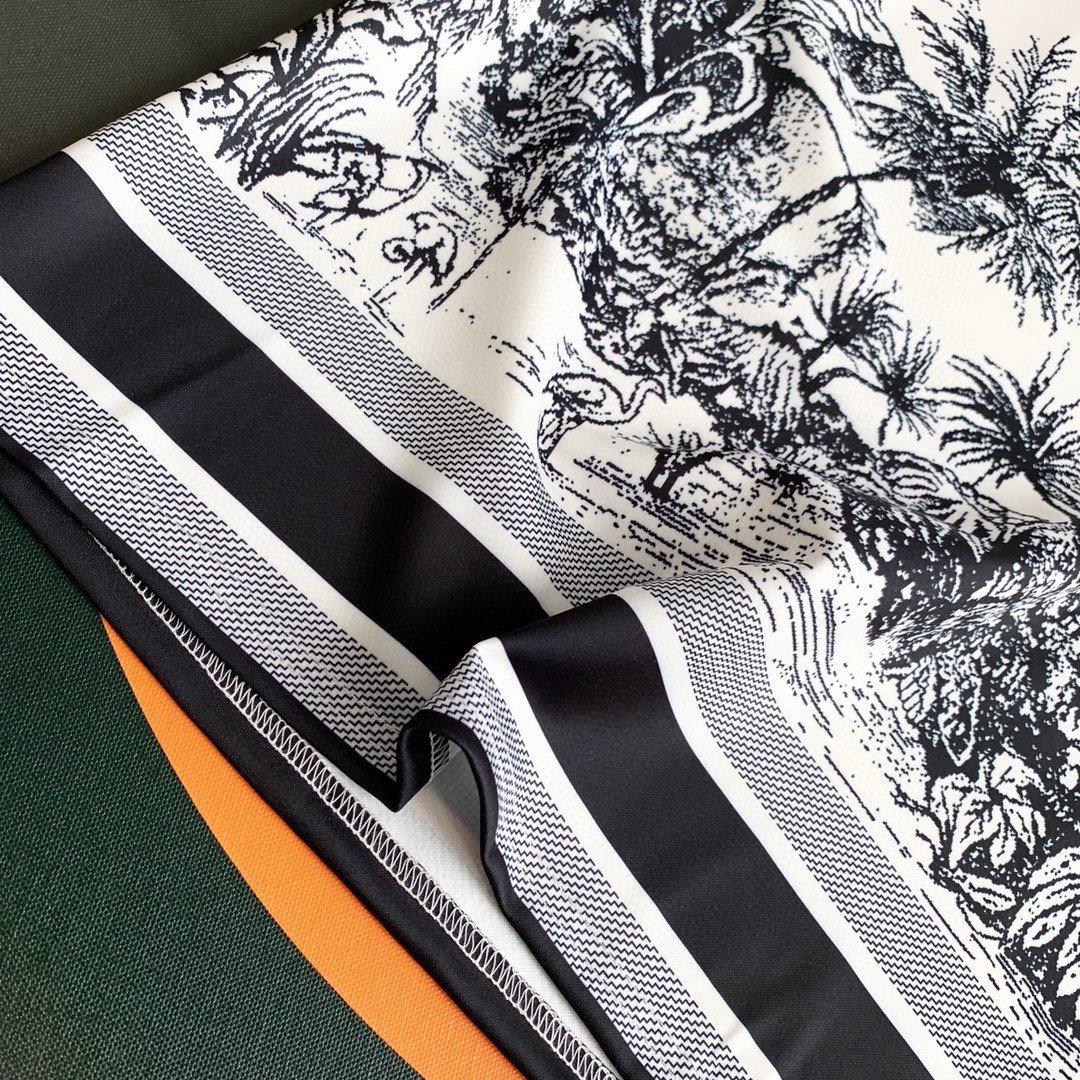 Dior裁片印花短裤套装图色SML高