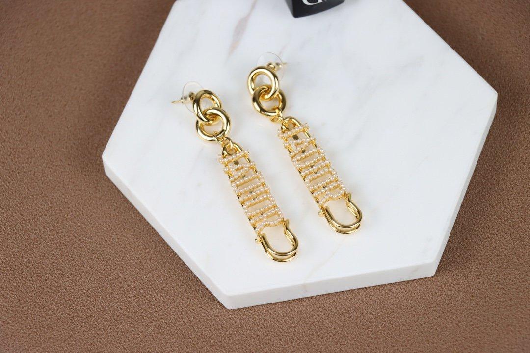 迪奥珍珠耳环Jadior系列又一新款
