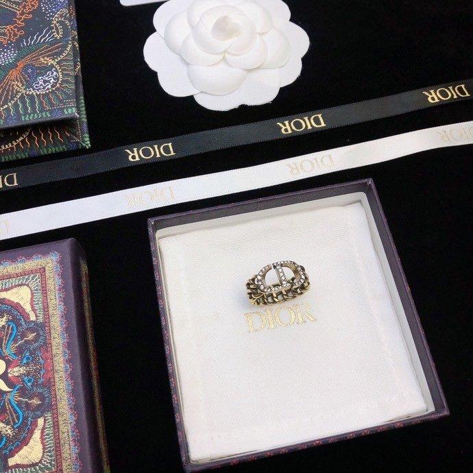 Dior新款戒指上新高端品质实拍图不