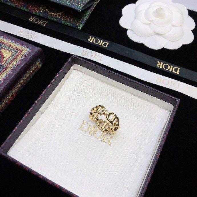 Dior迪奥新品CD戒指专柜同等材质