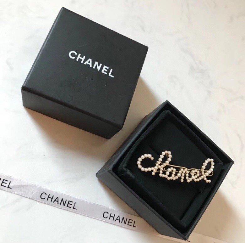 小香Chanel香奈儿时尚字母珍珠发