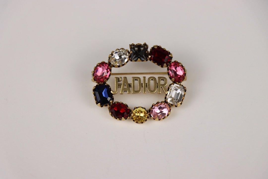 Dior迪奥新款jadior字母水晶