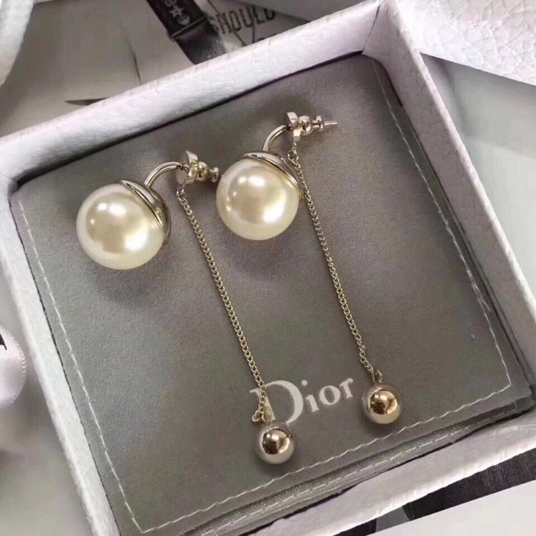 代购级别Dior耳环原版打造纯银针双