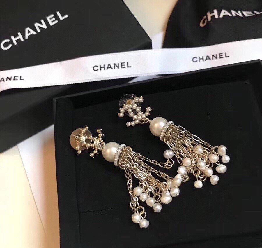 同款香奈儿chanel2021珍珠流