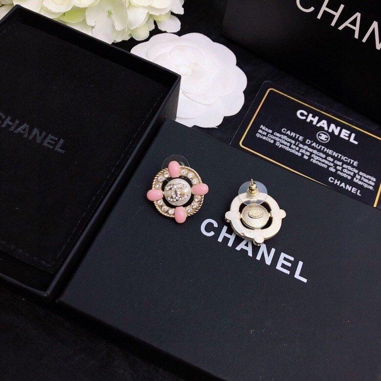 Chanel小香耳钉原版品质纯银针超