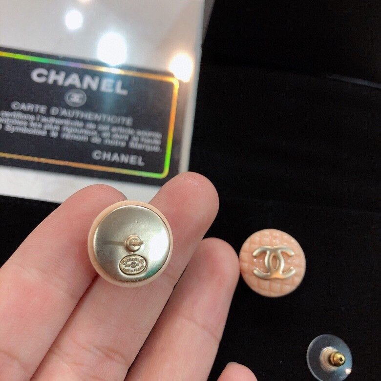 新款出货Chanel香奈儿耳钉小香耳