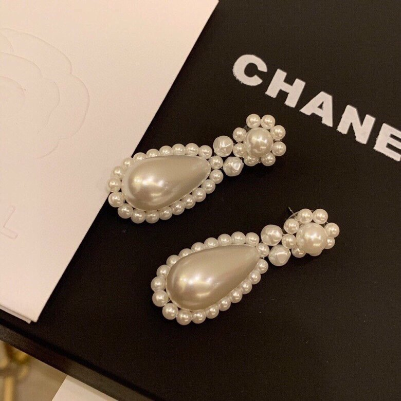 火Chanel香奈儿小香珍珠耳钉经典