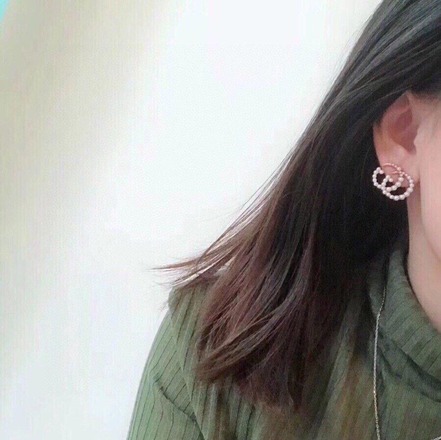 古弛经典耳钉打造纯银针美到哭因为是限