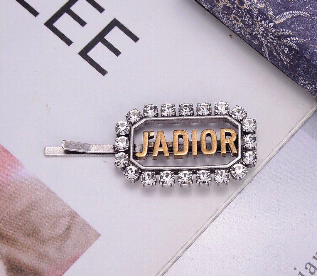 Dior迪奥JADIOR字母发夹专柜